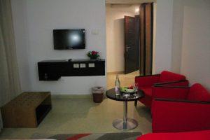 standard deluxe twin room -bedroom pavilion