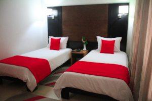 standard deluxe twin room - 2 beds separeted